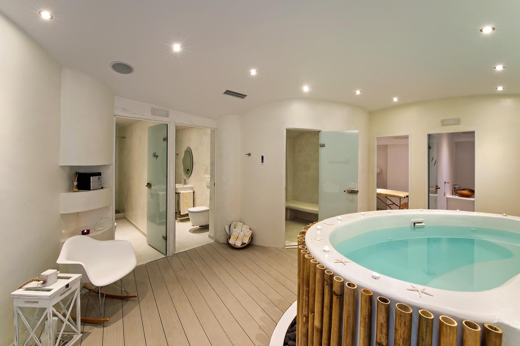 The Spa of Ira Hotel & Spa in Santorini!